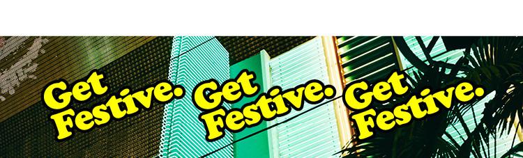 Get Festive Banner