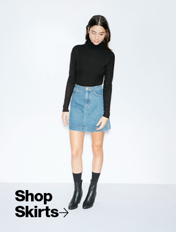 Women's Denim Shop - Denim Skirts
