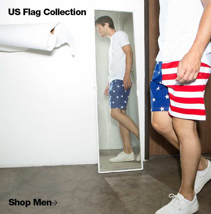 Men's US Flag Collection
