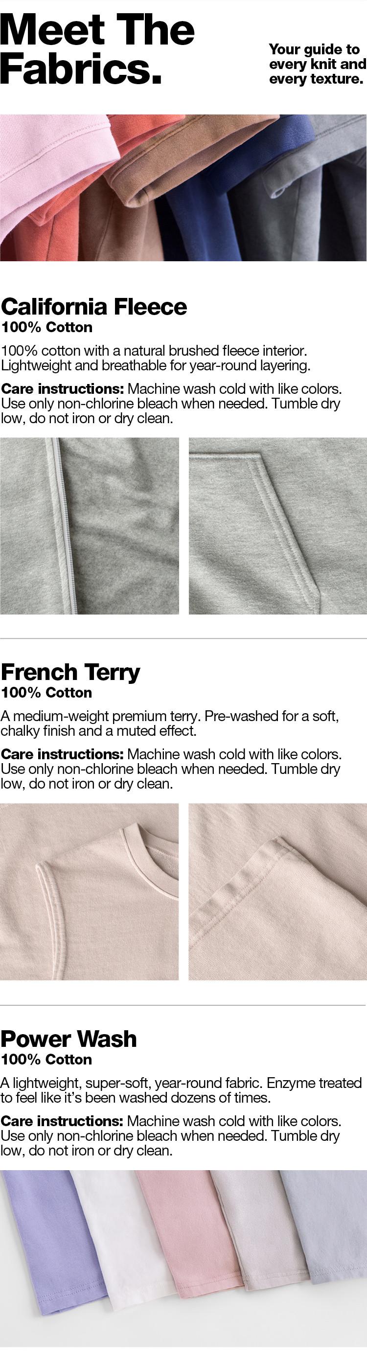 Meet the Fabrics - 1