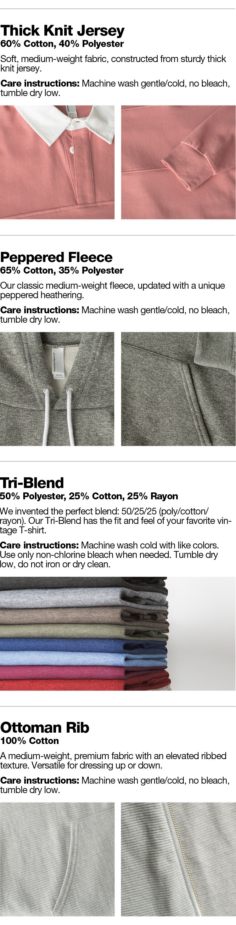 Meet the Fabrics - 2