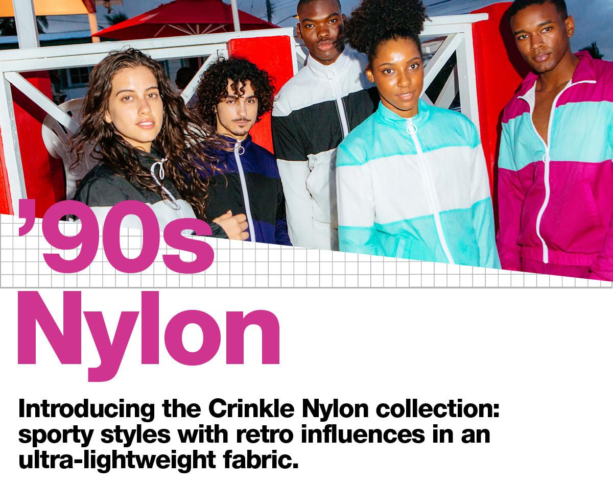 Crinkle Nylon - 1