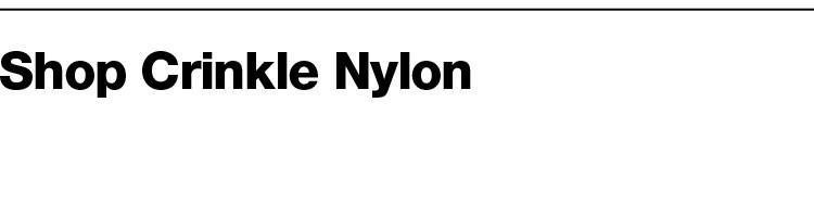 Crinkle Nylon - 41
