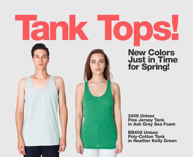 Tank Tops!