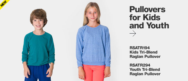 Pullovers for Kids and Youth