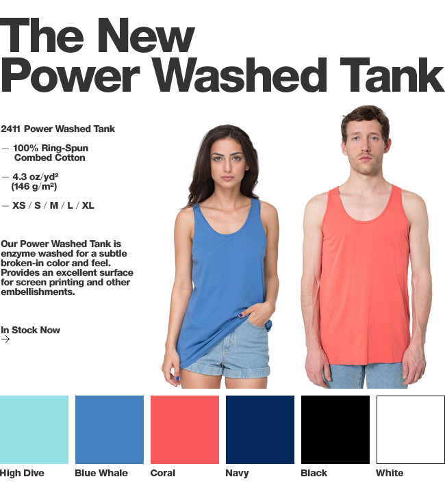 2411 Power Washed Tank