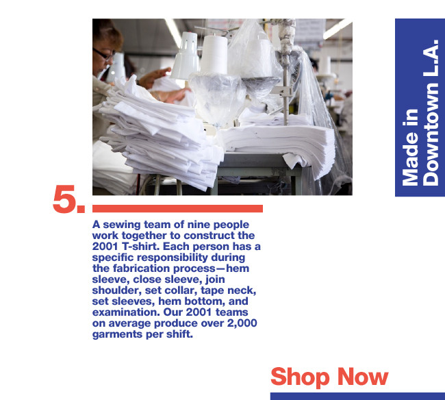 How Your Favorite T-Shirt Is Made: Behind the Scenes of the 2001