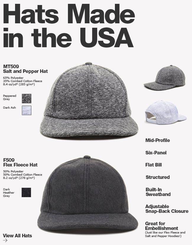 Hats Made in the USA!