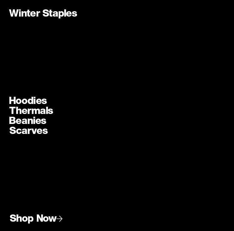 Women's Winter Staples
