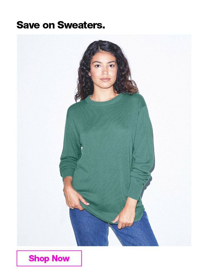 Save on Sweaters. Women