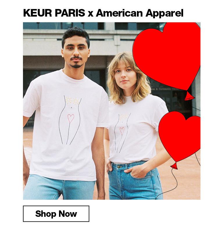 KEUR PARIS x American Apparel