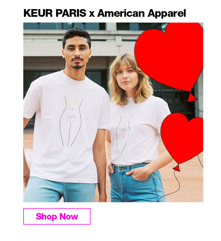 KEUR PARIS x American Apparel