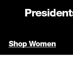 PRESIDENTS DAY PROMO Women