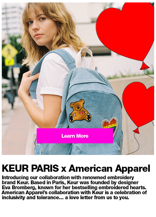 KEUR PARIS x American Apparel.