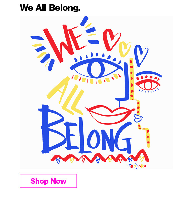 We All Belong (bring it back from the Dec Wk 1)