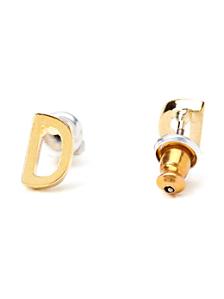 Alphabet Earrings