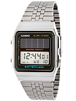 AL-180AMVV-1J Casio Silver & Black Digital Watch