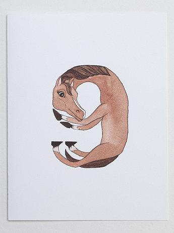 Animal Happy Birthday Number Cards
