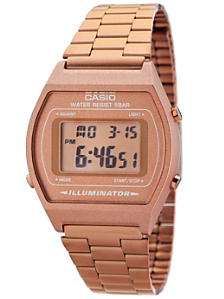B640WC-5 Casio Bronze Rose Digital Watch