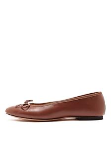 Leather Ballet Flat