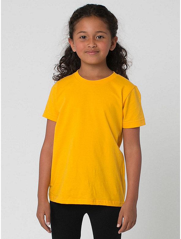 Kids' Poly-Cotton Short Sleeve T-Shirt