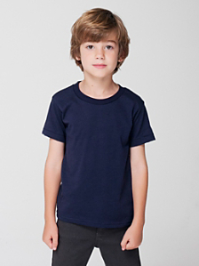 Kids' Poly-Cotton Short Sleeve T-Shirt