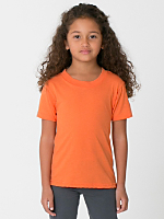 Kids Poly-Cotton Short Sleeve T-Shirt