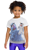 Kids Sesame Street Harry the Monster Poly-Cotton Short Sleeve T-Shirt