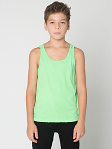Youth Neon Poly-Cotton Tank