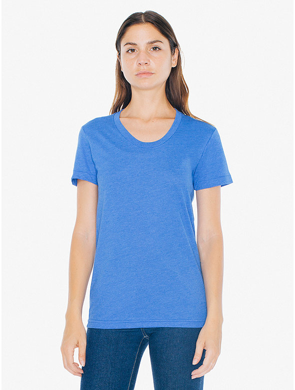 Poly-Cotton Short Sleeve Women's T