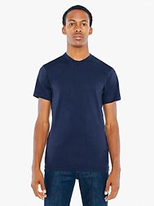 Poly-Cotton Short Sleeve Crew Neck