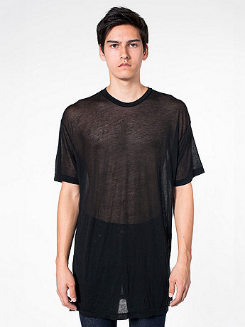See Thru Short Sleeve T-Shirt