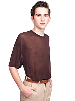See Thru Short Sleeve T-Shirt