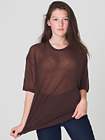 Unisex See Thru Short Sleeve T-Shirt