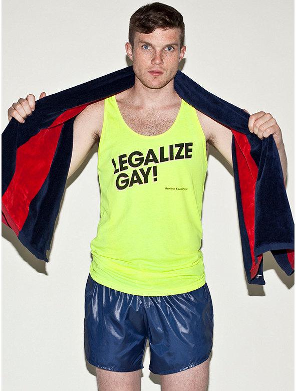 Legalize Gay Poly-Cotton Tank
