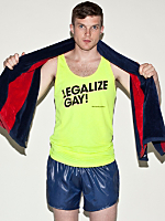 Legalize Gay Poly-Cotton Tank