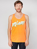 Miami Screen Printed Poly-Cotton Tank