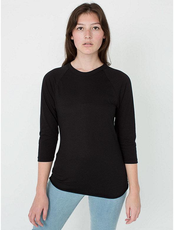 50/50 Raglan 3/4 Sleeve T-Shirt