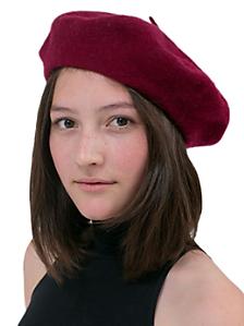 Unisex Wool Beret