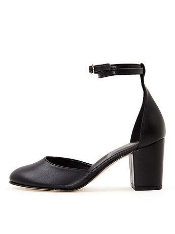 Vegan Leather Betty Heel