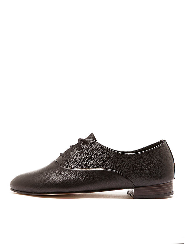 Bobby Leather Lace-Up Shoe