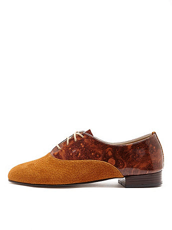 Bobby Suede Lace-Up Shoe
