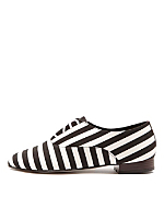 Bobby Stripe Lace-Up Shoe