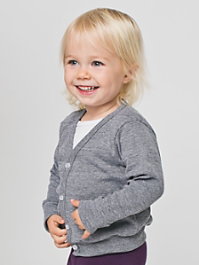 Infant Tri-Blend Rib Cardigan