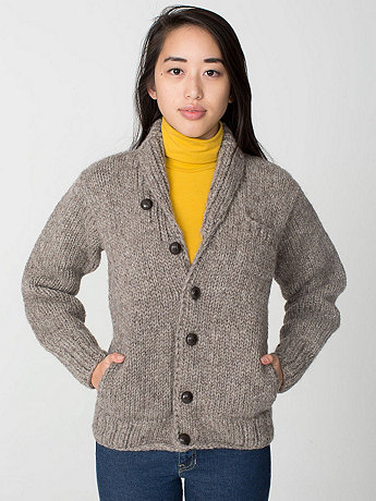 Unisex Classic Button Canadian Sweater
