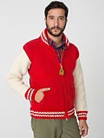Varsity Zip Canadian Sweater