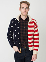 US Flag Canadian Sweater