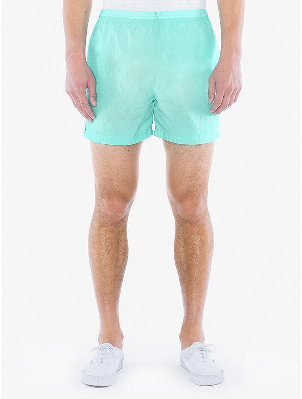 Crinkle Nylon Team Short