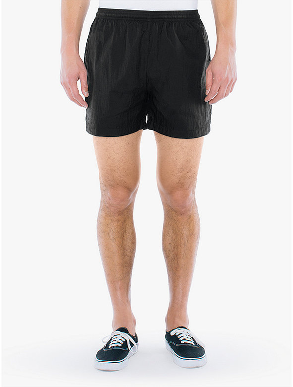 Crinkle Nylon Team Short