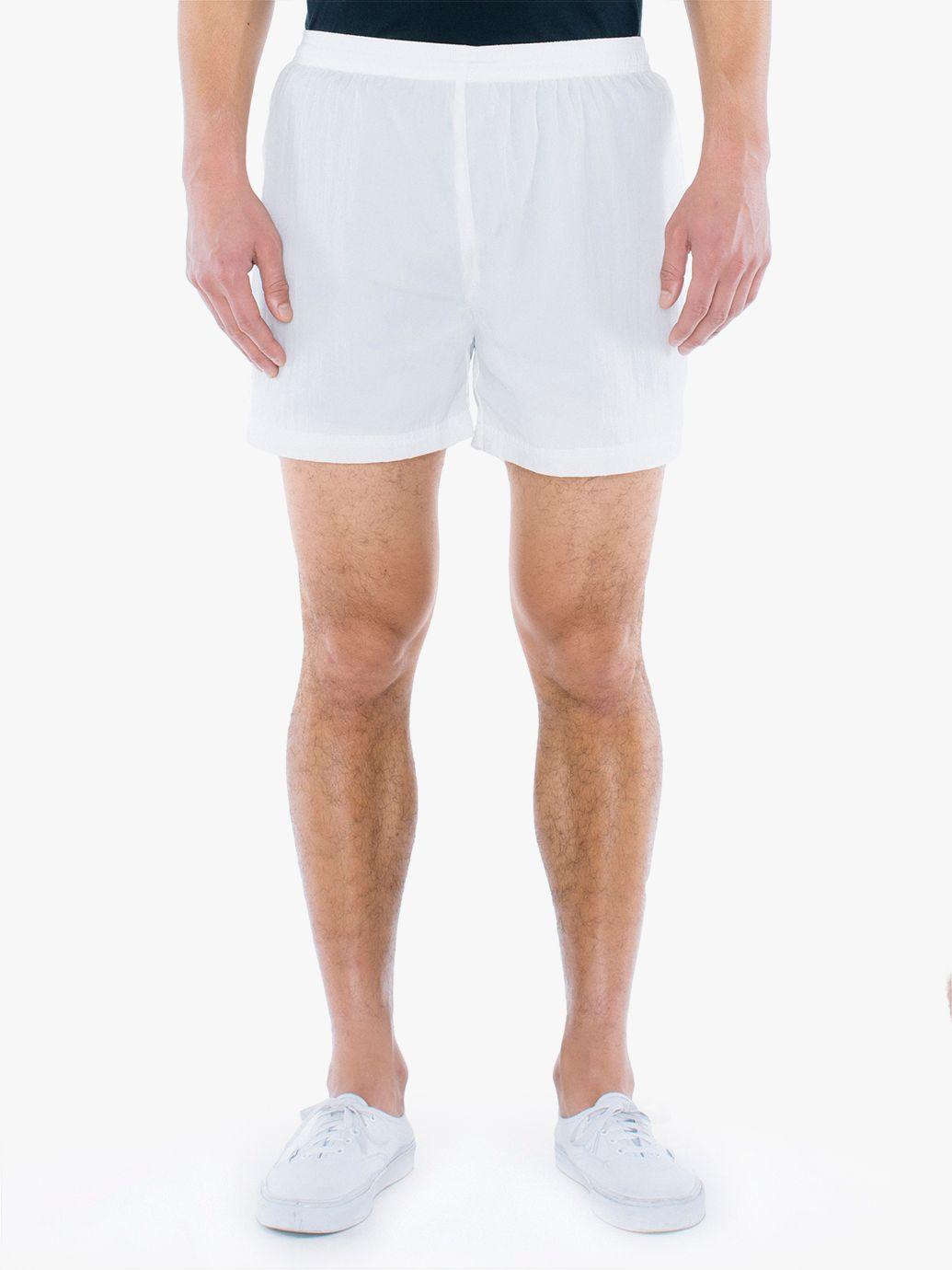Crinkle Nylon Team Short | Tuggl